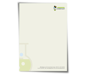 Letterhead printing Pharmacy Drugs