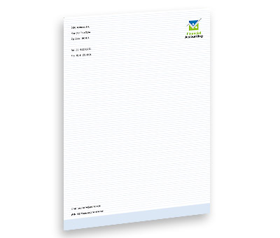 Online Letterhead printing Business Finance Solution