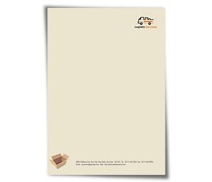 Letterhead printing Transport Logistics