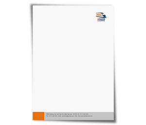 Letterhead printing Couriers