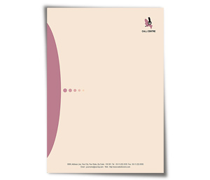 Letterhead printing Call Centre Training