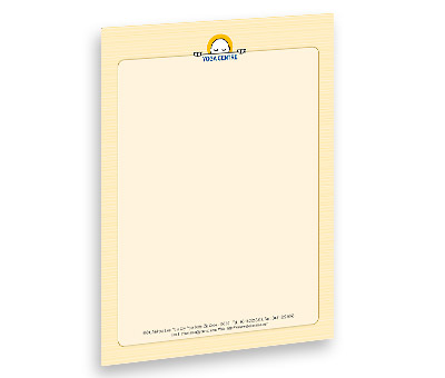 Online Letterhead printing Yoga Studio