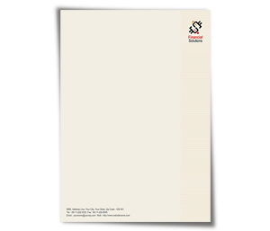 Letterhead printing Finance Management