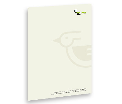 Online Letterhead printing Bird and Pet Clinic