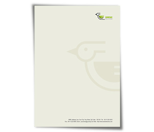 Letterhead printing Bird and Pet Clinic
