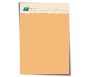 Letterhead printing Online Travel Agents