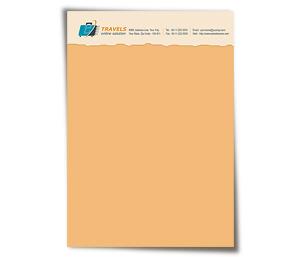 Letterhead printing Online Travel Agents