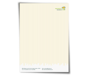 Letterhead printing Property Valuation