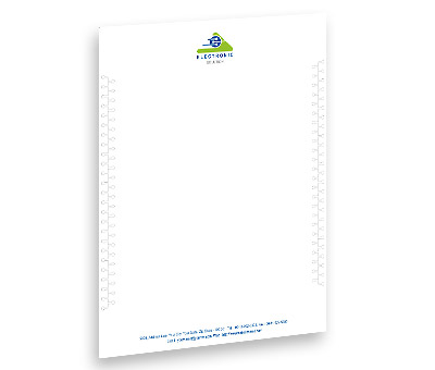 Online Letterhead printing Industrial Electronics