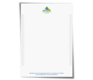 Letterhead printing Industrial Electronics