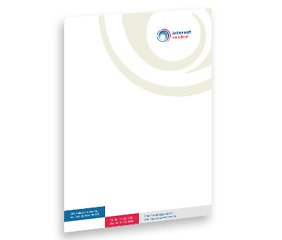 Online Letterhead printing Internet Business Solutions
