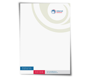 Letterhead printing Internet Business Solutions