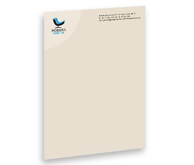 letterhead design for furniture sale offset or digital printing