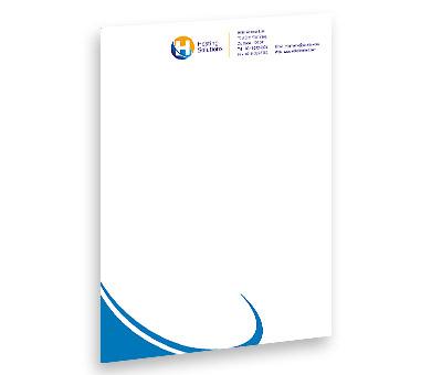Online Letterhead printing Hosting Package