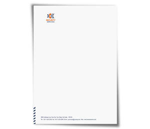 Letterhead printing Network Security Services