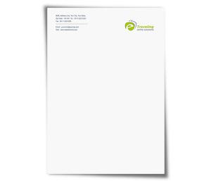Letterhead printing E-Travel