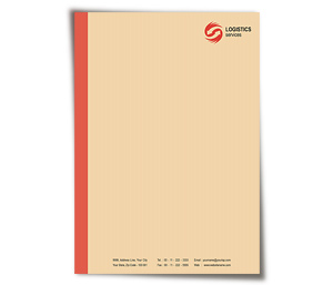 Letterhead printing Global Logistics