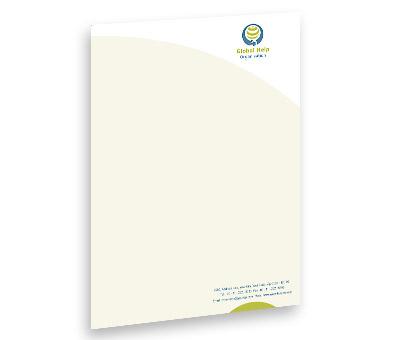 Online Letterhead printing Social Research