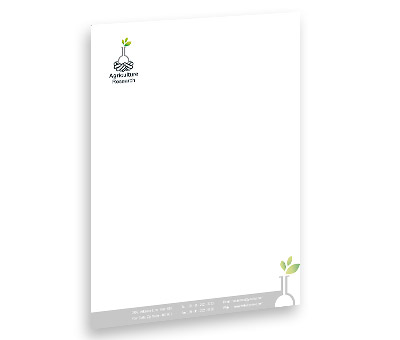 Online Letterhead printing Agricultural Research Council