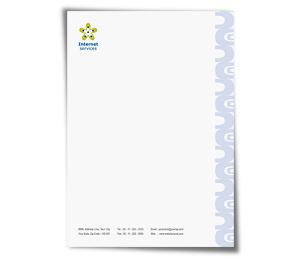 Letterhead printing Dsl Internet Service