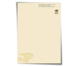 Letterhead printing Library Book Sale