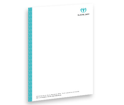 Online Letterhead printing Global Unity