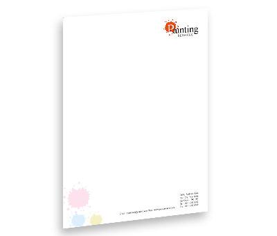 Online Letterhead printing Paint Services