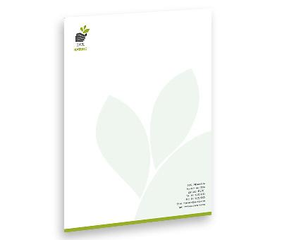 Online Letterhead printing Tree Harvest