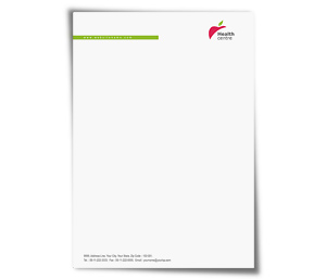 Letterhead printing Home Health Care