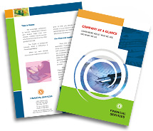 Online Brochure printing Financial Services